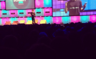Paddy Cosgrave on the Main Stage at Dublin Web Summit
